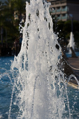 Alanya -  Damlatas fountains park near Clepatra beach . Turkey