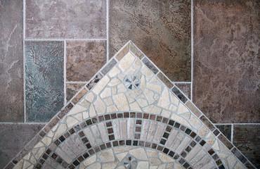 Mosaik und Bodenfliesen