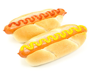Isolated Hotdogs