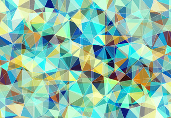 Colorful geometric pattern. Triangles background.
