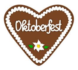 """Lebkuchenherz """"Oktoberfest"""""""