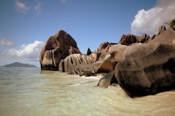 Seychellen, La Digue, Anse Source d'Argent