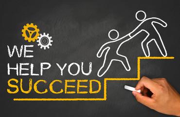 we help you succeed