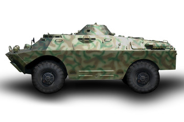 troop-carrier wheeled and isolated