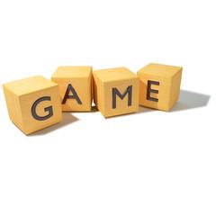 Würfel Spiel und Game