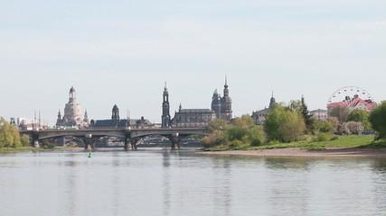 Old Dresden landscape