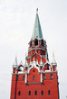 Old tower. Moscow Kremlin. UNESCO World Heritage Site.