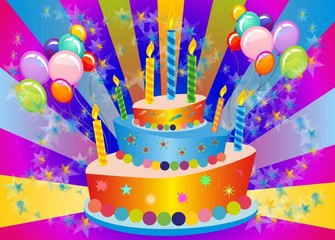 tort urodzinowy,