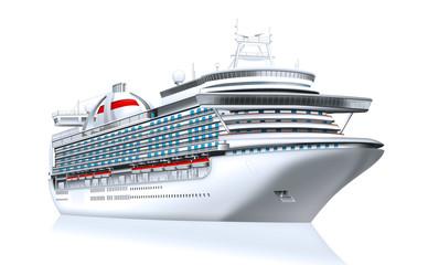 Kreusfahrtschiff, Luxusliner freigestellt