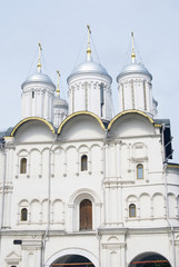 Twelve apostles church. Moscow Kremlin. UNESCO Heritage.