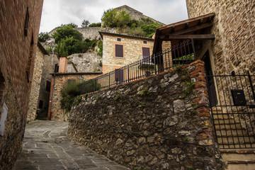 Borgo medievale in Val d'Orcia