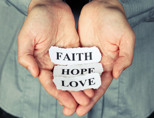 Faith, Hope and Love