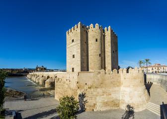Calahorra Tower in Cordoba, Andalusia, Spain.