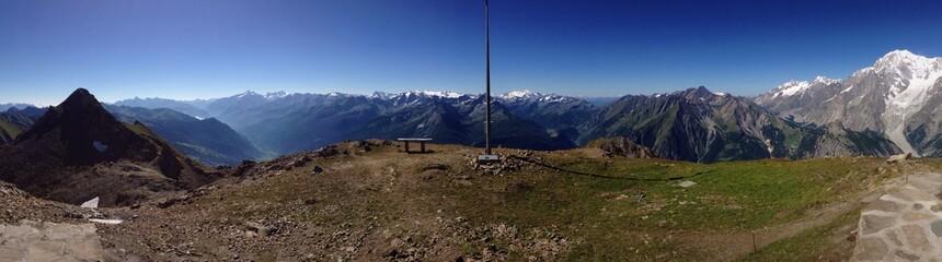 panoramica monti Valle d'Aosta