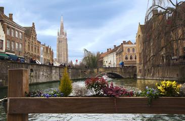 Бельгия. Каналы Брюгге.