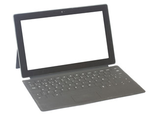 Tablet with keyboard