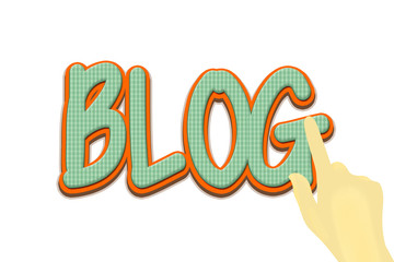 Blog image visibility
