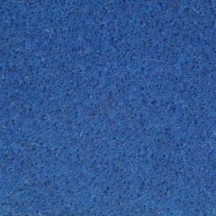 Blue fabric felt texture and background seamless