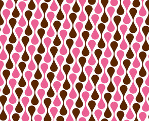 seamless pattern retro