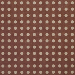 seamless brown Polka dot background