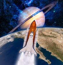 Navette spatiale Rocket Spaceship