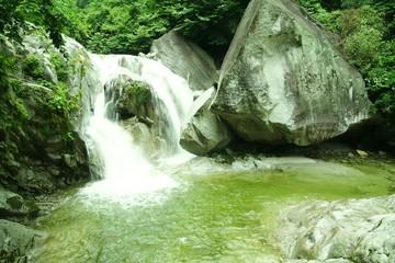 尾白川渓谷三ノ滝