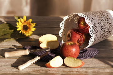 Apfel Liebe