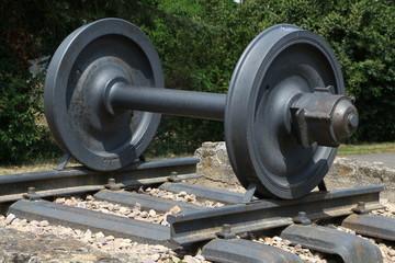 Radsatz für Eisenbahn, Lokomotive, Waggon
