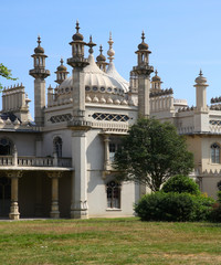 The Royal Pavilion in Brighton, England