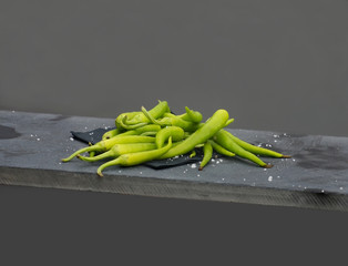 Ibarra green peppers. (Guindillas)