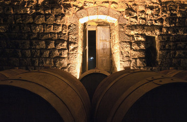 Weinkeller im Libanon