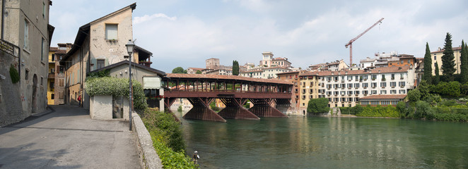 Bassano del Grappa Bridge, Italy