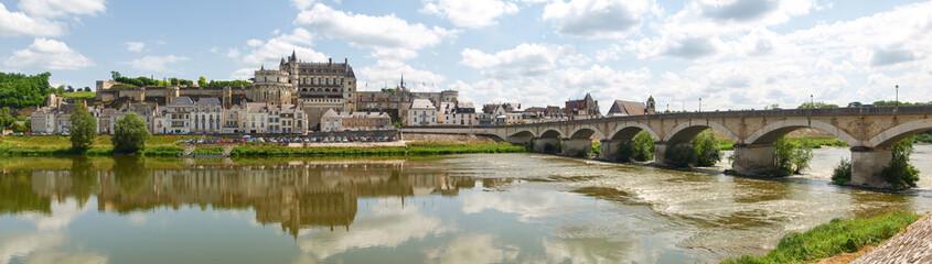 Ville d'Amboise et le Château d'Amboise