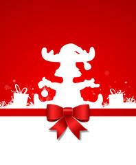 Elch Mütze Weihnachten