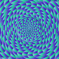 Abstract Background with Radial Pattern