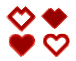 Set of Hearts
