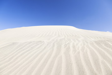 Sand dunes in Maspalomas, Spain