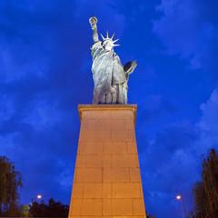 Replica of the Statue of Liberty in Paris