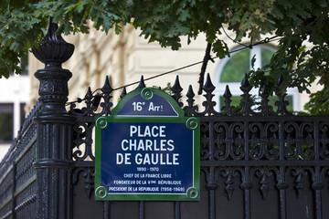Place Charles De Gaulle in Paris