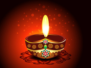 Diwali Deepak Background