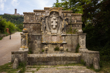 Antica fontana a Radicofani