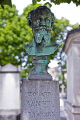 Grave of Edouard Manet in Passy Cemetery