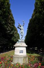 Faune Dansant Sculpture in Jardin du Luxembourg