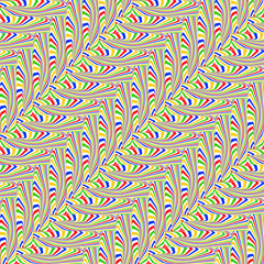 Design seamless colorful zigzag geometric pattern