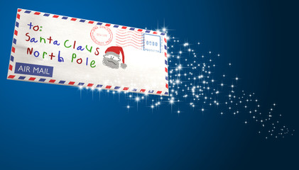 Letter To Santa Sparling