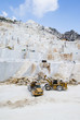 Industrial marble quarry site in Carrara, Italy - 69270314