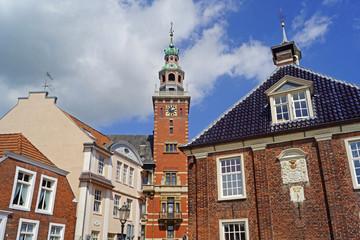 Altstadt von LEER ( Ostfriesland )
