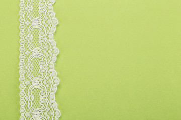 background with lacy border