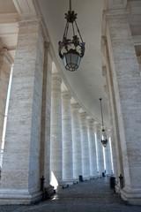 Kolonnaden des Petersplatzes
