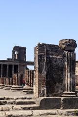 Pompeji - Blick auf die Ruine der Basilika